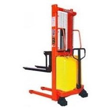hand lift semi electric stacker