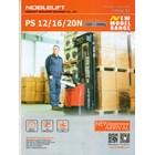 Hand lift Stacker Full Elektrik 1.6 ton  herawan denko harga termurah special bergaransi 3
