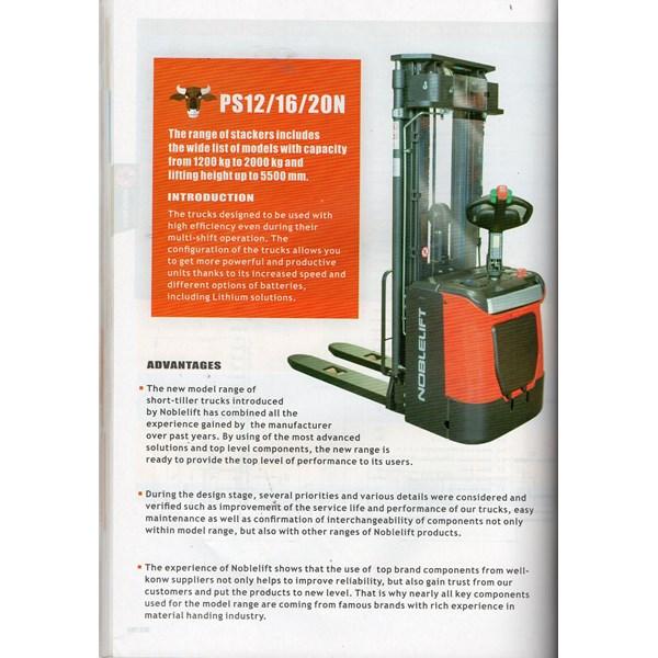 Hand lift Stacker Full Elektrik 1.6 ton  herawan denko harga termurah special bergaransi