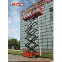 Jual Scissor lift tangga aluminium elektrik 12 meter  2