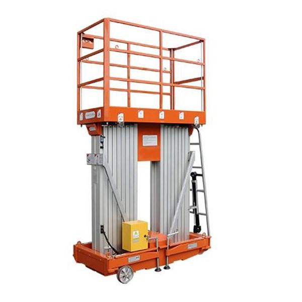 Aluminium work platform 12 meter herawan Denko termurah harga istimewa 2019