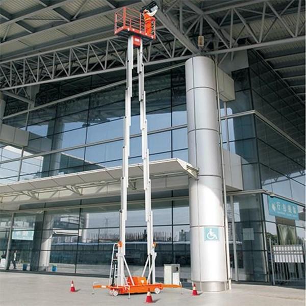 aluminium work platform tangga hidrolik 14 meter