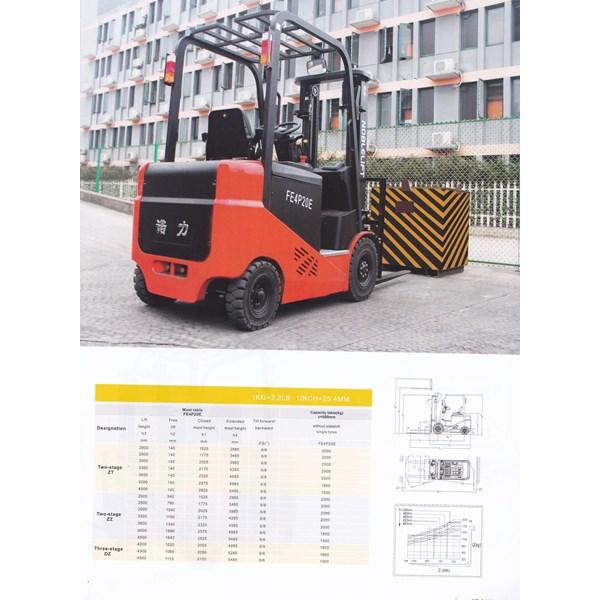 Forklift Elektrik 2 ton  herawan denko harga termurah special bergaransi