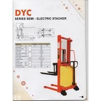 Hand Lift Stacker Semi Elektrik Herawan Denko Termurah Jakarta