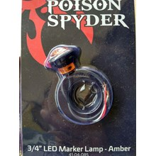 Aksesoris Mobil  Jeep Original Poison Spyder 3 Per 4 Led Side Marker Lamp  Atau Lampu Mata Laba Laba