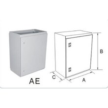 Size of Indoor 40x50x22cm Box Panel Thickness Plat