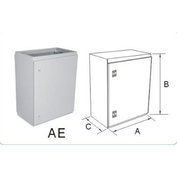 Panel Box Indoor ukuran 40x50x30cm Ketebalan Plat 1.6mm
