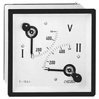CIRCUTOR DOUBLE VOLTMETER 2EC 144 1CRADV16