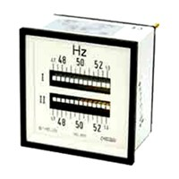 CIRCUTOR DOUBLE FREQUENCY METER (REED TYPE) 2 HLC 96 1CRADF91