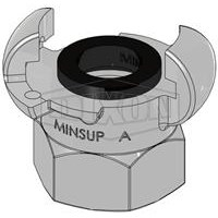 Jual Hose Couplings MINSUP Type A Female End