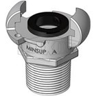 Hose Couplings Type A Male End MINSUP 1