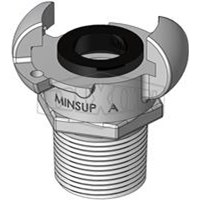 Hose Couplings MINSUP Type A Male End