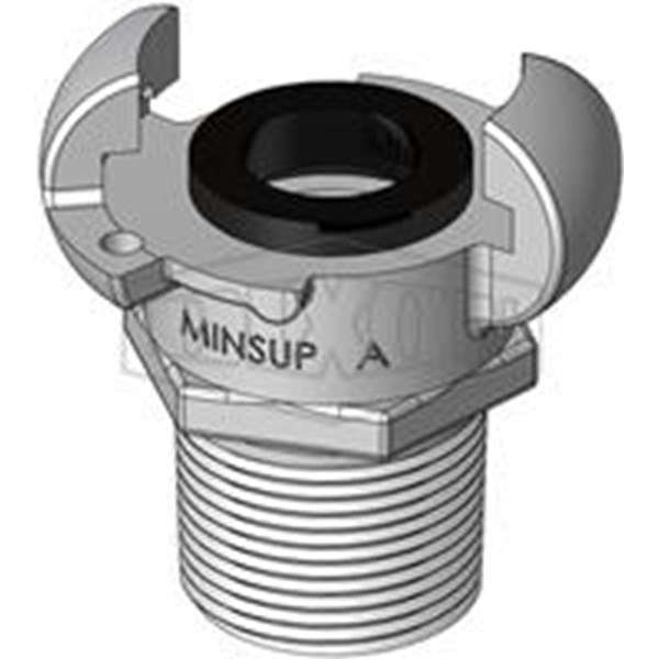 Hose Couplings Type A Male End MINSUP