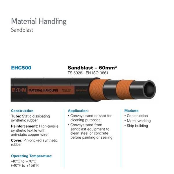 Selang Industri Eaton EHC500 Sandblast Hose