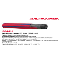 Selang Industri ALFAGOMMA Multi Purpose L984 AH