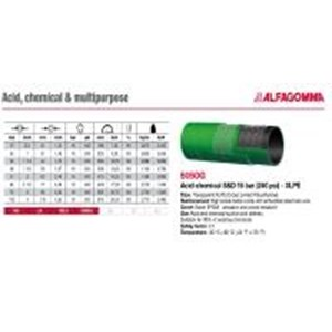 SELANG INDUSTRI ALFAGOMMA T505 OG ACID AND CHEMICAL XLPE