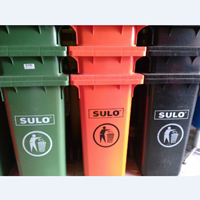 Tempat Sampah Plastik Roda 100 Liter