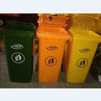 Tempat Sampah Plastik Roda 120 Liter 1