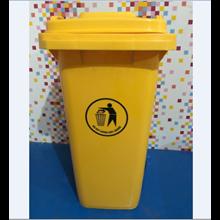 Tempat Sampah Plastik Roda 240 Liter