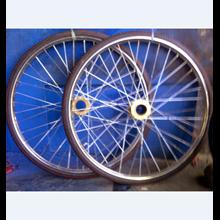 Roda Gerobak Becak