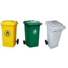 Tempat Sampah Plastik 120 Liter Hijau
