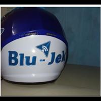 Jual Helm Custom Promosi Blu Jek
