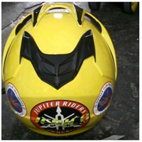 Jual Helm Custom Club Motor