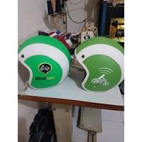 Distributor Helm grab dan gojek 3