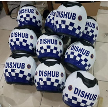 Helm Motor Dishub Custom