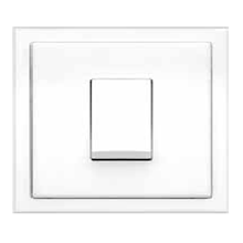 Saklar Rania Accessories Single Switch 2-Way 10A Matching Frame In Aw
