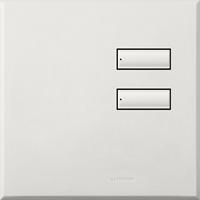Saklar International Seetouch Qs Wallstations 2-Button. In Au. Qb Or Qz