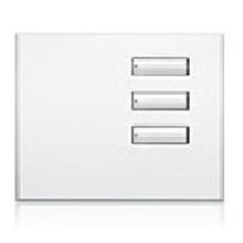 Saklar International Seetouch QS Wallstations 3-button. in AU. QB or QZ
