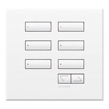 Saklar International Seetouch Qs Wallstations 6-Button With Raise-Lower. In Ar. Aw. Or Mc