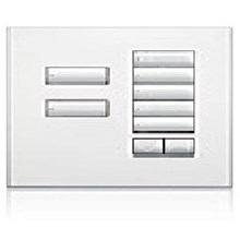 Saklar International Seetouch QS Wallstations 7-button with raise-lower. in AR. AW. or MC