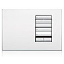 Saklar International Seetouch QS Wallstations 5-button with raise-lower and IR receiver. in AR. AW. or MC
