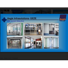 Geze Auto Sliding Door German