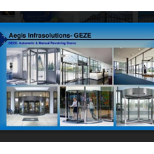 Geze Revolving Door German