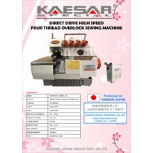 DIRECT DRIVE HIGH SPEED OVERLOCK FOUR THREAD SEWIN