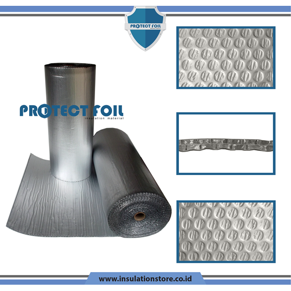 Aluminium Foil Bubble Insulation 6033