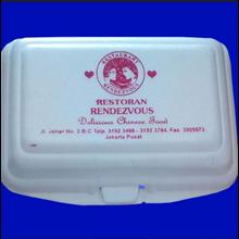 Kotak Makan Styrofoam Printing