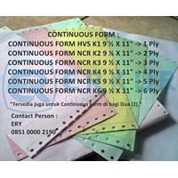 Jual Kertas Continuous Form 2