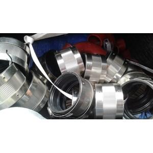 pipe dan perlengkapan nya.coupling  cast iron...