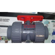 BALL VALVE TRUE UNION U-PVC  BRAND TAIWAN