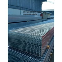 Stell Grating Serrated