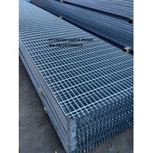 Stell Grating Serrated Galvanis