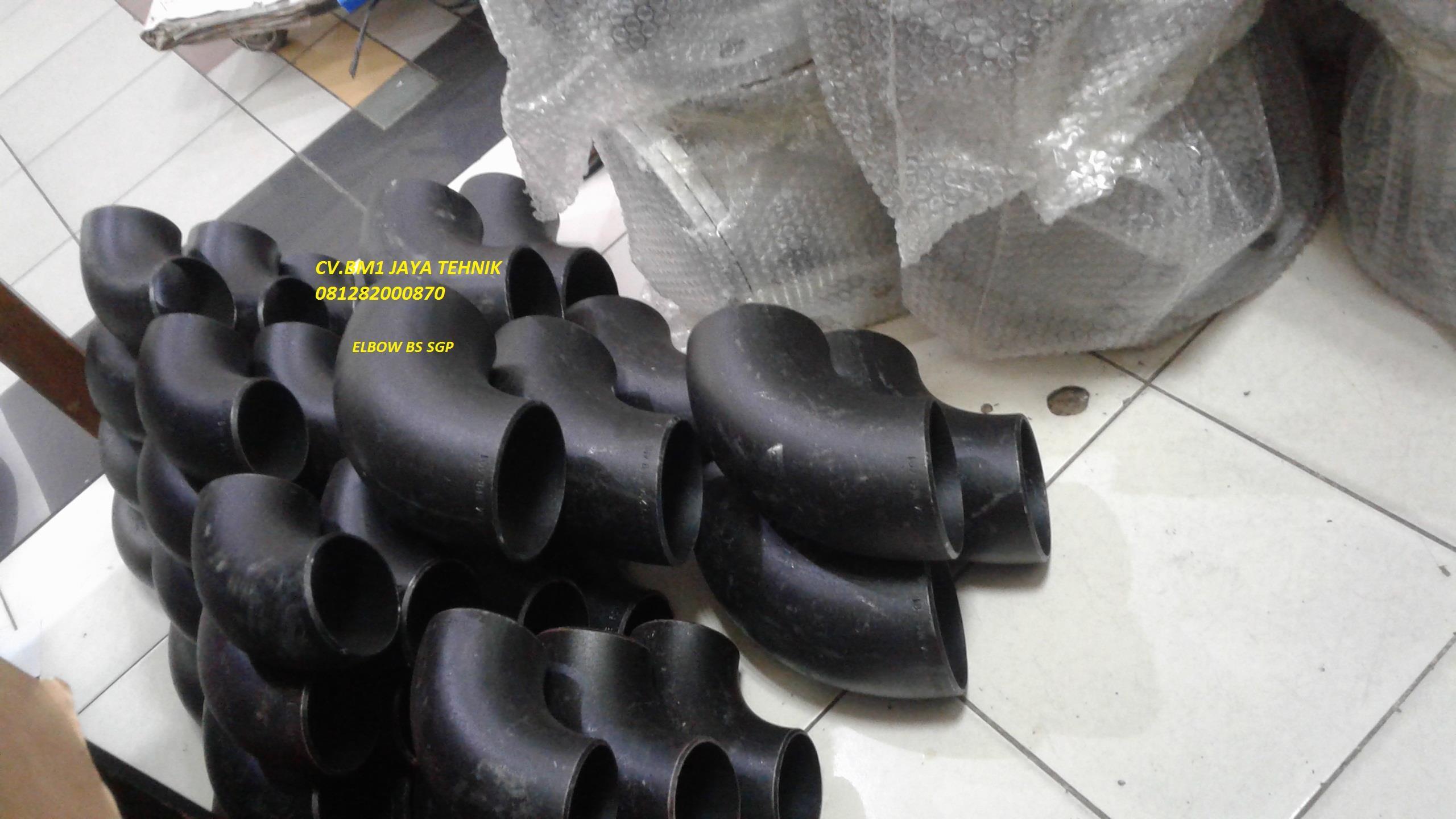 jual elbow carbon steel sgp harga murah jakarta oleh pt