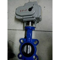 Buterfly Valve Cast Iront With Pneumatik