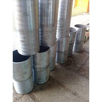 Hose Mender Sch 40 Stainless Steel