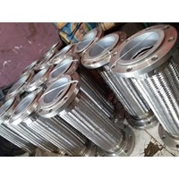 Flexible Metal Hose Stainless Steel Connection Flange
