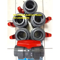 True Union Ball Valve Upvc Standar Ansi
